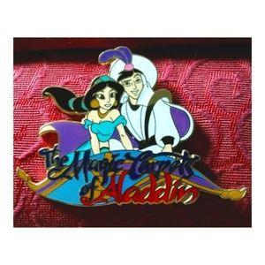 🧞♂️Disney Magic Carpets of Aladdin Pin Brooch